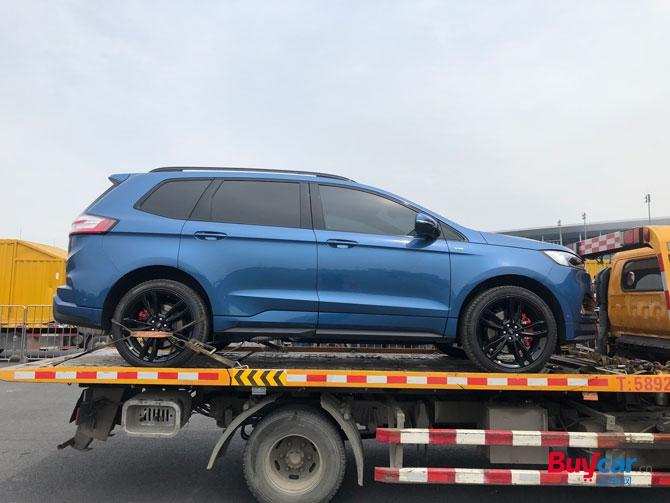 2019上海车展探馆兼顾运动的7座SUV 长安福特锐界ST抵达车展