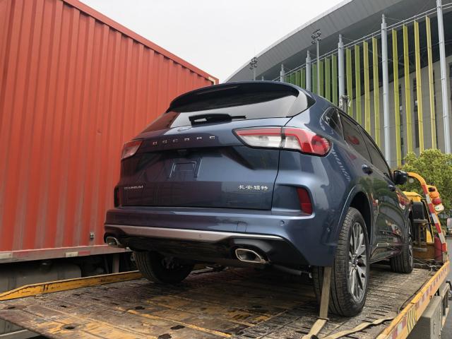 2019上海车展探馆专为中国市场打造 长安福特Escape抵达车展