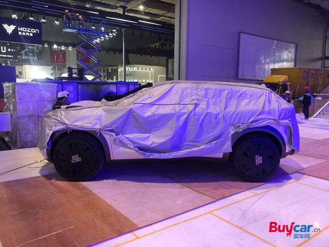 英菲尼迪概念车QX Inspiration概念车亮相北美车展