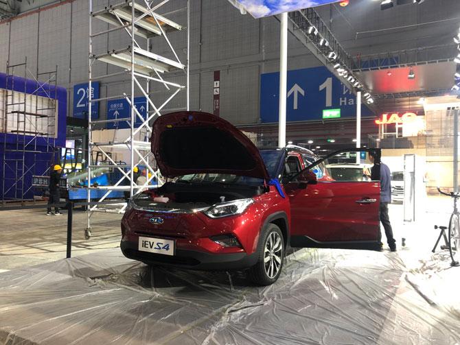 2019上海车展探馆将于4月16日上市 江淮iEVS4抵达车展
