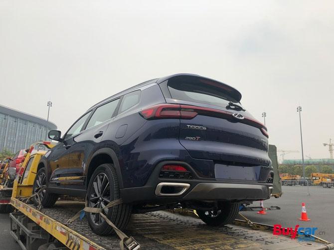 """2019上海车展探馆前宝马设计师""""再创造"""" 全新奇瑞瑞虎8已抵达车展"""