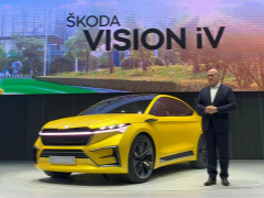 纯电概念车首秀、成立数字实验室 斯柯达向新四化迈出重要一步