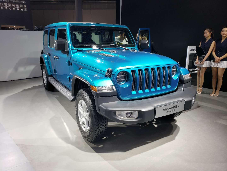 2019上海车展探馆国内限量发售 Jeep牧马人电动敞篷版曝光