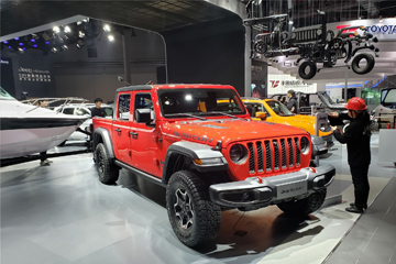 2019上海车展探馆 | 最值得期待的中型皮卡 Jeep Gladiator抵达车展