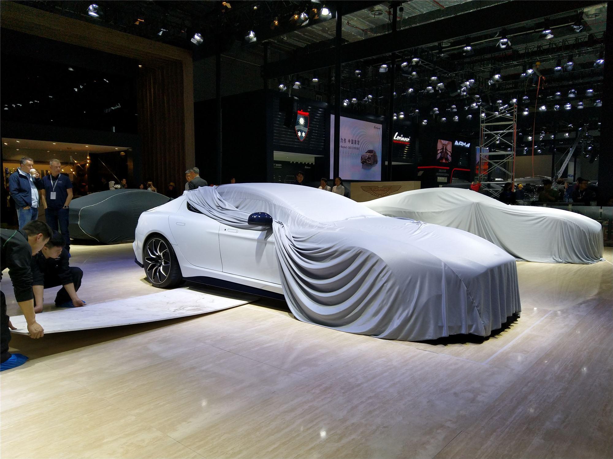 2019上海车展探馆阿斯顿·马丁首款纯电动车 Rapide E将于上海车展全球首秀