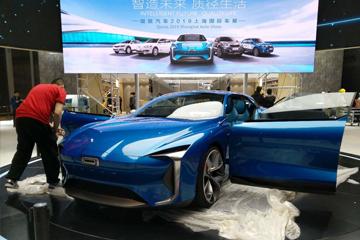 2019上海车展探馆 | 采用对开门设计 观致全新概念车曝光