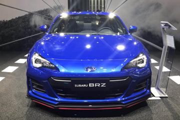 2019上海车展 | 回归中国市场 新款斯巴鲁BRZ亮相上海车展