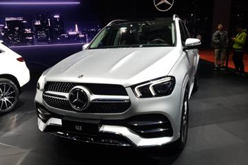 2019上海车展 | 产品力全面进化 全新奔驰GLE上海车展上市