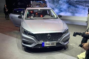 2019上海车展 |新增Trophy运动套件 2019款名爵6亮相车展