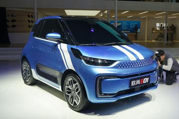 2019上海车展 |全新纯电动微型车 长安欧尚E01正式亮相