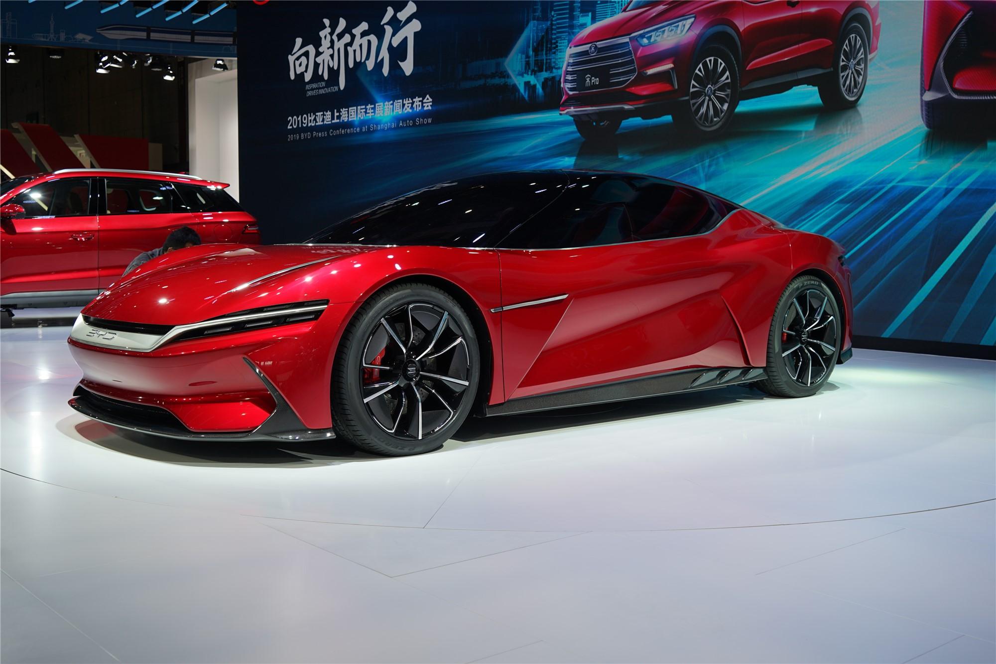 首款超级跑车概念车 比亚迪E-SEED GT亮相