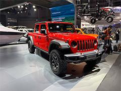 2019上海车展 | 与牧马人同平台打造    Jeep Gladiator正式亮相