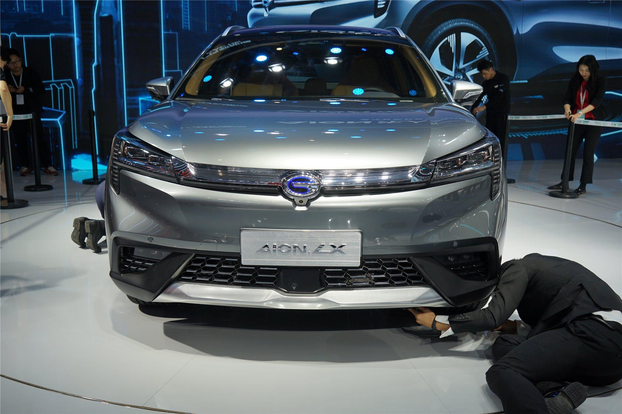 首款中大型纯电SUV 广汽新能源Aion LX正式发布