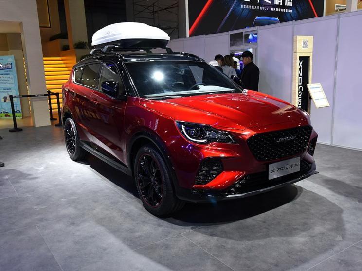 2019上海车展 更符合消费者口味 捷途X70 Coupe车型亮相车展