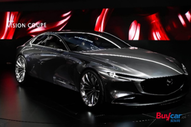 马自达携Mazda VISION COUPE概念车与创驰蓝天-X发动机亮相车展