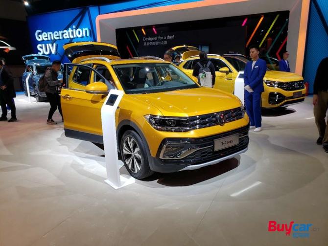 2019上海车展 | 定位小型SUV 上汽大众T-Cross亮相车展