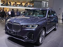 2019上海车展实拍 | 家族旗舰SUV应有的姿态 图解宝马X7