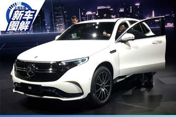 2019上海车展实拍 | 未来与传统 图解北京奔驰EQC
