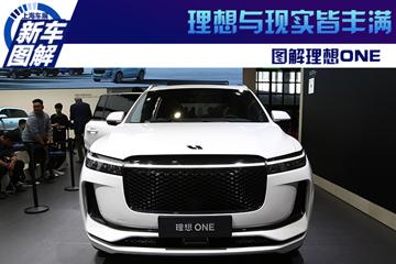 2019上海车展实拍 | 理想与现实皆丰满 图解理想ONE
