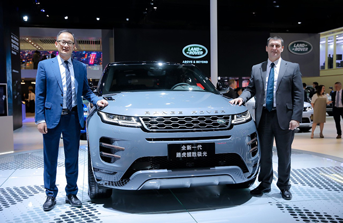 NBD汽车丨实力成就雄心 奇瑞捷豹路虎荣耀2019上海车展