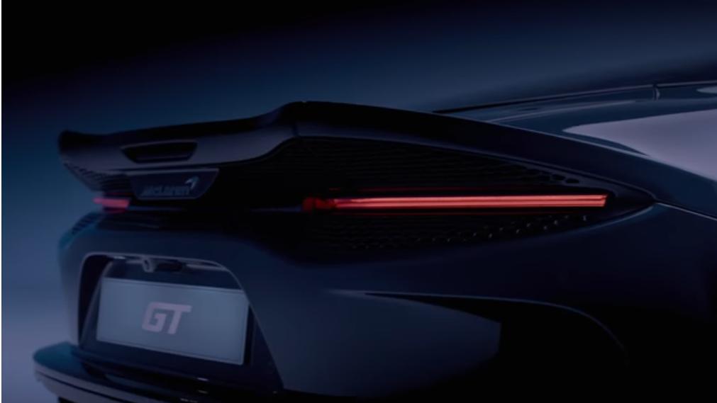 迈凯伦GT跑车的预告片