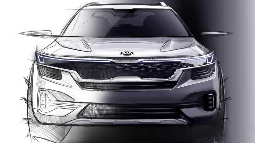 或将命名为Tusker 起亚全新SUV设计图曝光