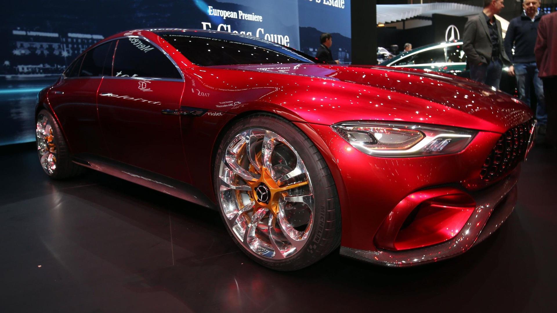 综合最大功率805马力 梅赛德斯-AMG GT73混合动力车将于2020年发布