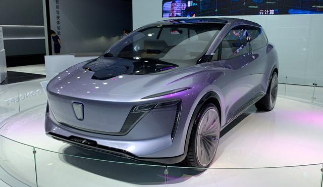 上汽携5G远程驾驶技术、大通氢燃料车亮相CESA