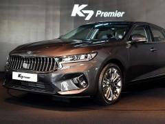 与设计图基本一致 全新起亚K7实车亮相
