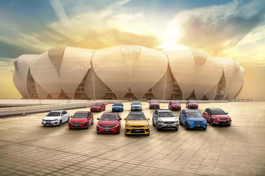 吉利汽车上半年累计销量达65.2万辆
