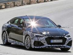 搭载2.9T V6发动机 奥迪RS 5 Sportback谍照曝光