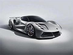 全球限量130台 路特斯首款纯电超跑Evija发布