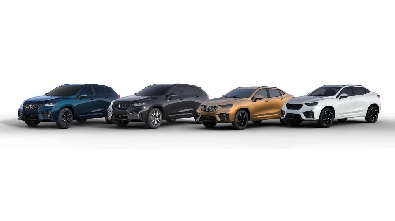 VV7系列将于成都车展上市4款新车 加入轿跑风和插混车型