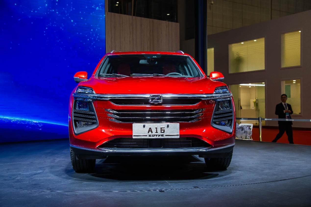 众泰A16正式定名众泰TS5 预计将于今年四季度上市
