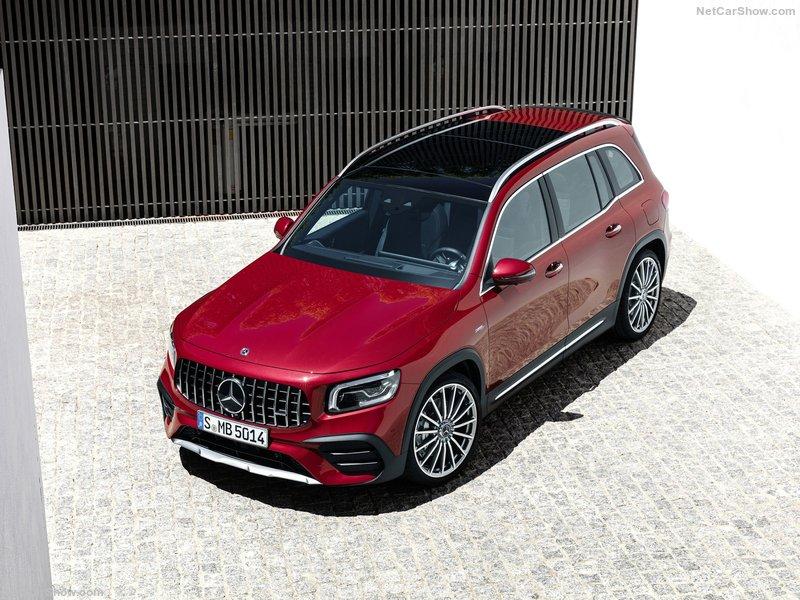 奔驰发布GLB高性能版   将于法兰克福车展亮相
