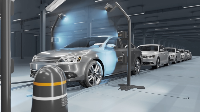 几秒钟就能检查车况 以色列一公司推出车辆智能扫描系统