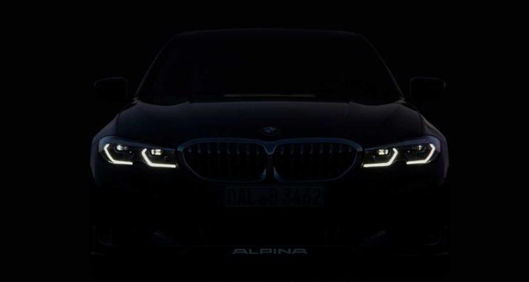 法兰克福车展亮相 全新ALPINA B3预告图曝光