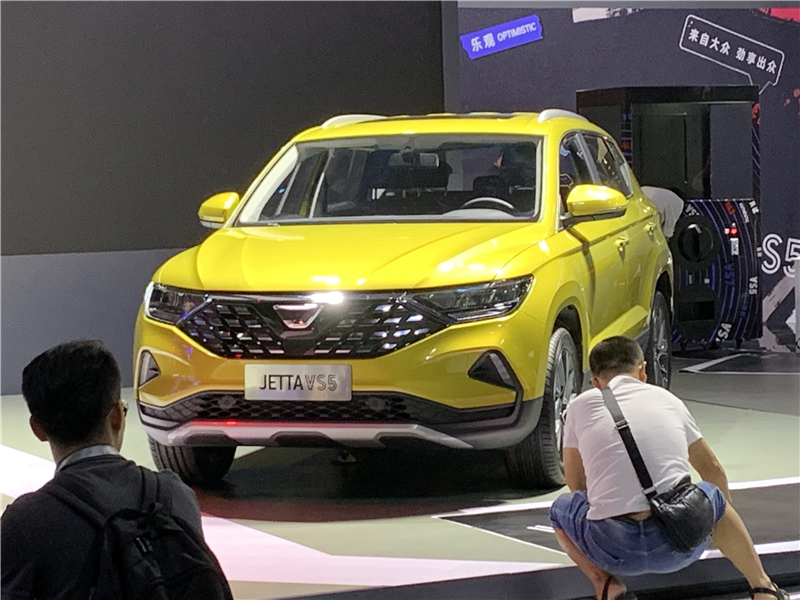 2019成都车展探馆 | 集万千关注于一身 一汽-大众捷达VS5即将上市