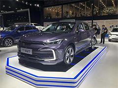 2019成都车展 | NEDC续航里程达451公里 北汽新能源EU7正式亮相