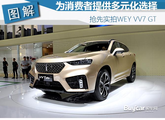 2019成都车展实拍 | 为消费者提供多元化选择 抢先实拍WEY VV7 GT