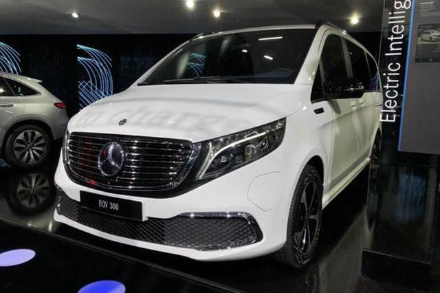 2019法兰克福车展 | 奔驰家族第二位纯电成员 EQV量产版亮相