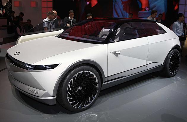 2019法兰克福车展 | 未来电动车方向 现代45概念车亮相