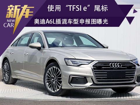 """奥迪A6L插混车型申报图曝光 使用""""TFSI e""""尾标"""