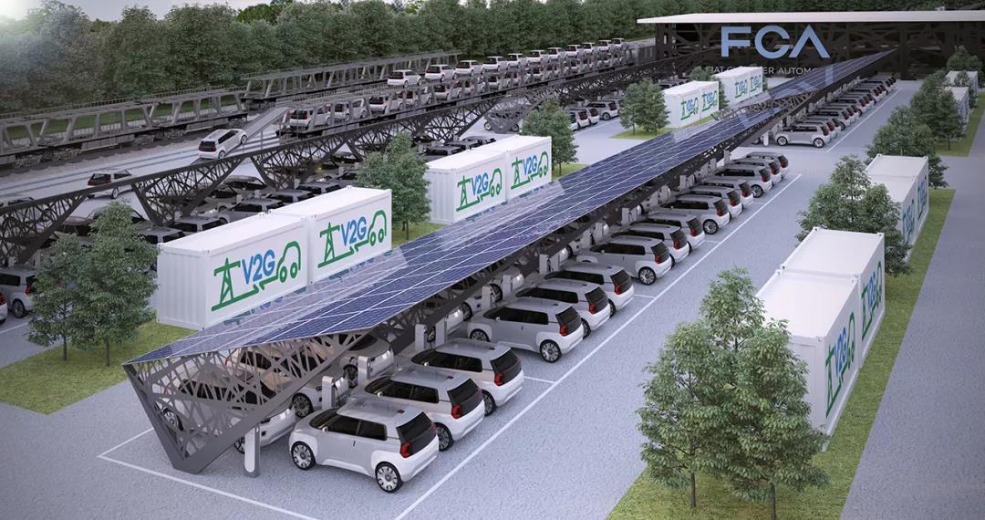 降低电动汽车的运营成本 FCA将与TERNA进行联合试验