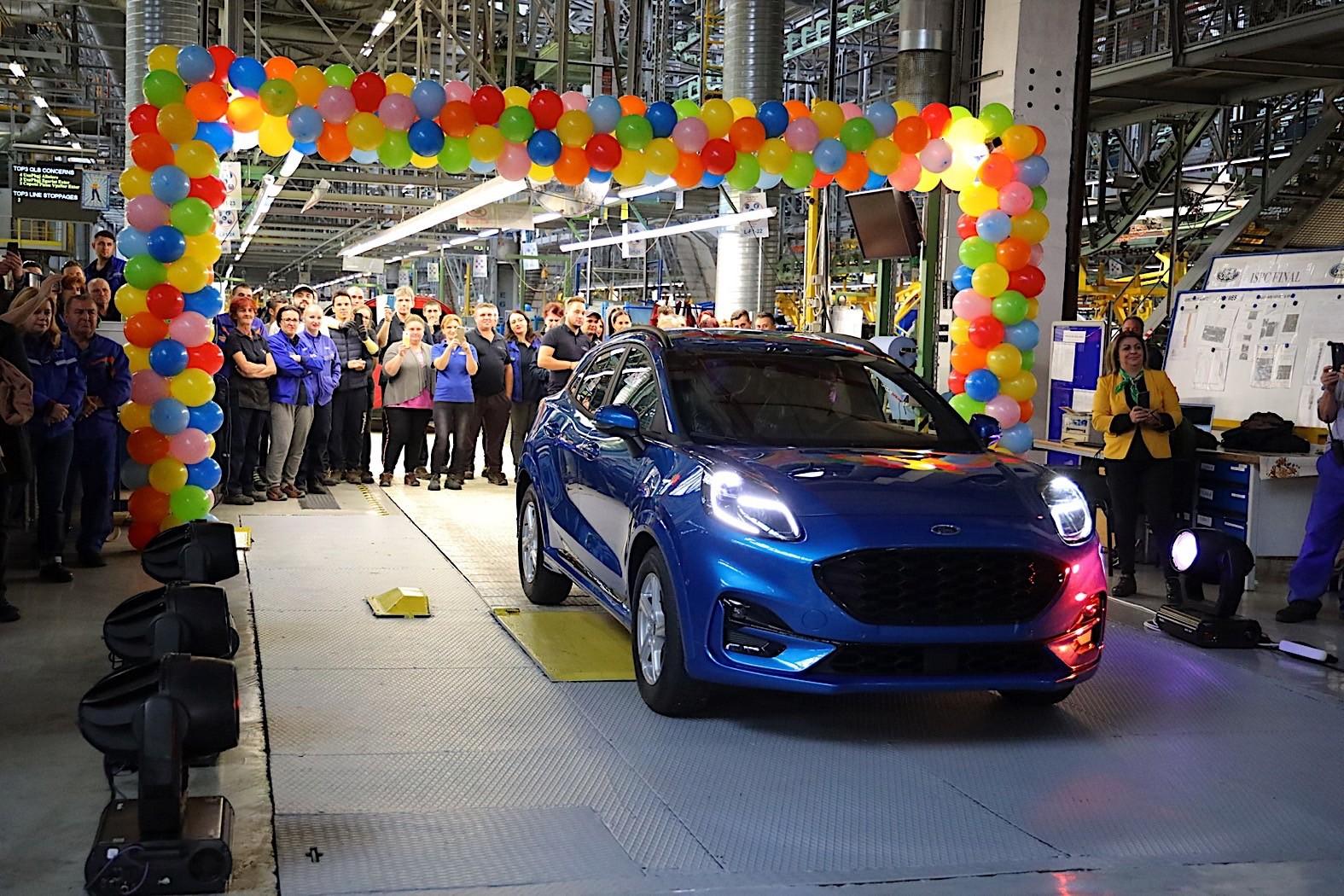 福特PUMA正式投产 搭载1.0T三缸轻混系统