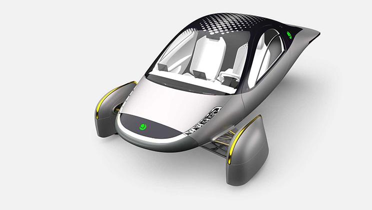 每天靠晒太阳可充电行驶约64公里 Aptera太阳能车将于明年发布