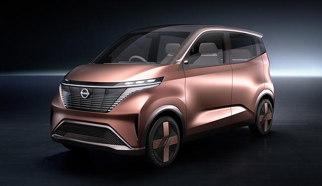 再次诠释日产智行 日产IMk纯电动概念车发布