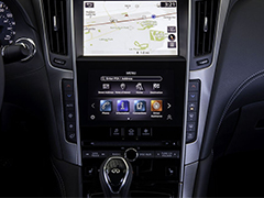 提升响应速度并丰富功能  英菲尼迪将推出全新双屏车机系统