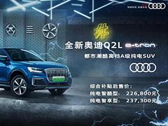 奥迪首款国产奥迪Q2L e-tron正式发布上市 售价22.68万元起