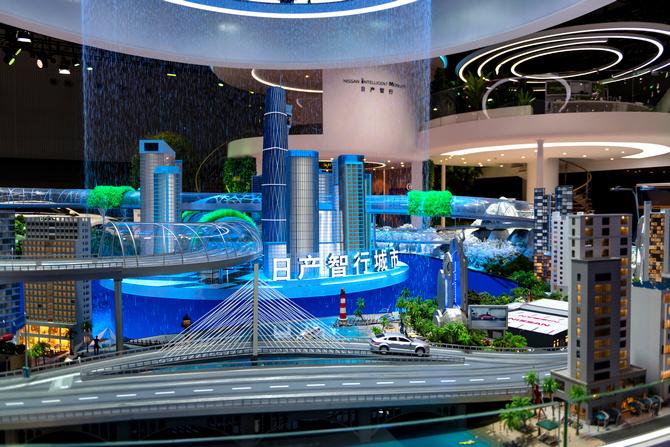 日产智行·美好未来  构筑品牌价值新体验东风日产领衔开启未来出行新生活